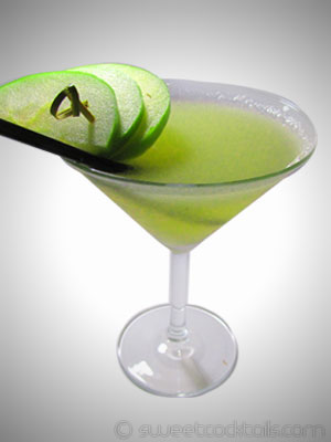 photo du cocktail Apple Martini