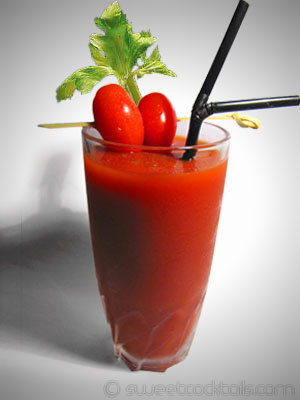 photo du cocktail bloody mary