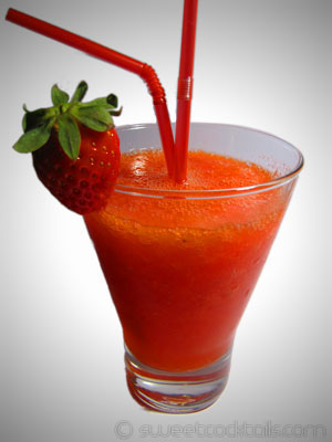 picture of the cocktail Daiquirì strawberry
