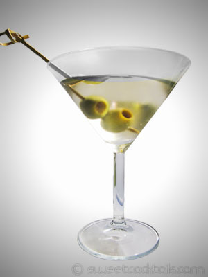 picture of the cocktail dry martini