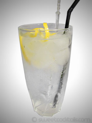 picture of the cocktail gin fizz