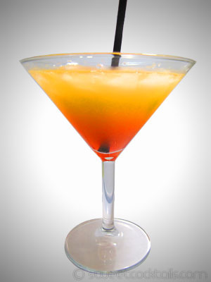 photo du cocktail Hawaiian Sunrise