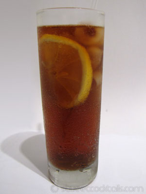 photo du cocktail long island ice tea