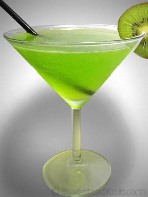 picture of the cocktail Midori splice